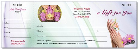 Gc31a Gift Certificates